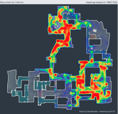 inferno heatmap