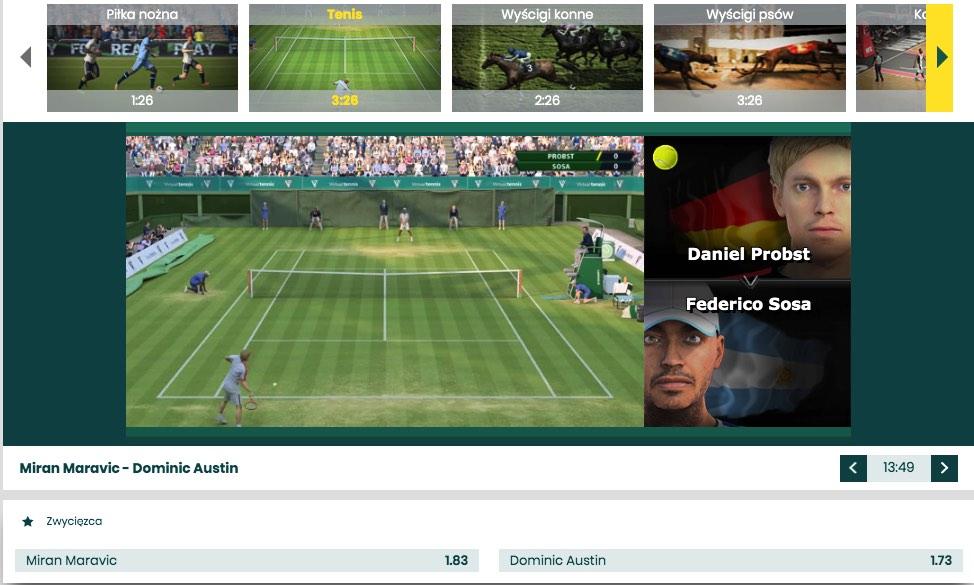 sporty wirtualne nowosc bukamcher bet fan