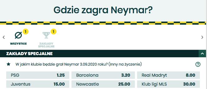 kursy bukmacherskie newcastle united betfan neymar