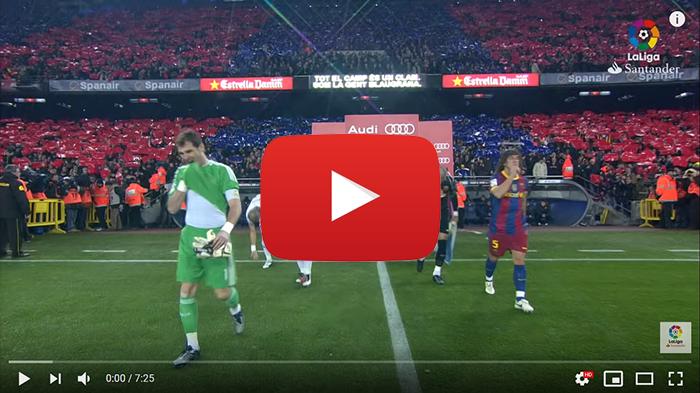 FC Barcelona - Real Madryt El Clasico 5-0 2010
