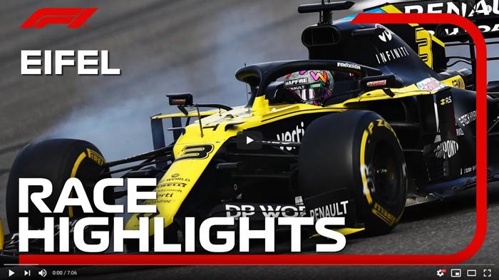 Grand Prix Niemiec F1 2020 skrót