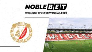 Bukmacher Noblebet sponsorem Widzewa Łódź