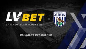Bukmacher LV BET został sponsorem West Bromwich Albion!